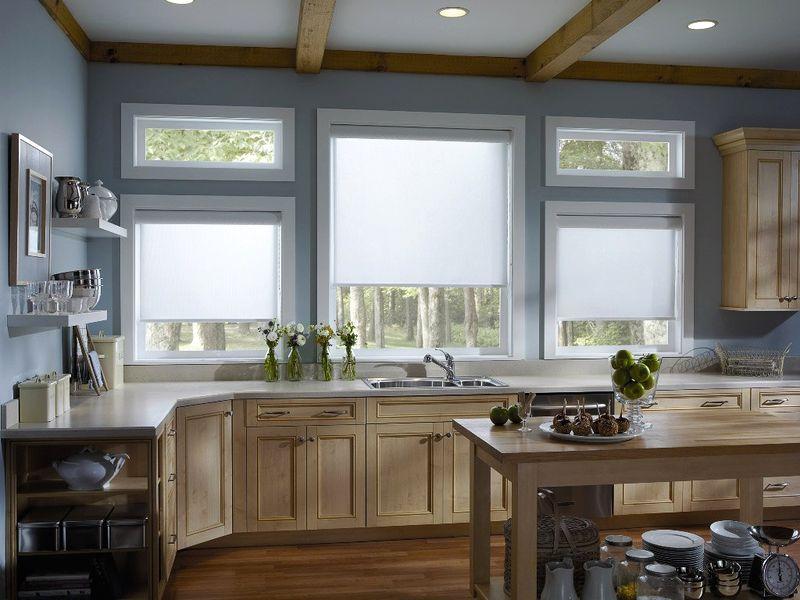 Кухни с деревянными окнами фото